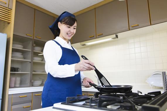 料理・買い物サポート